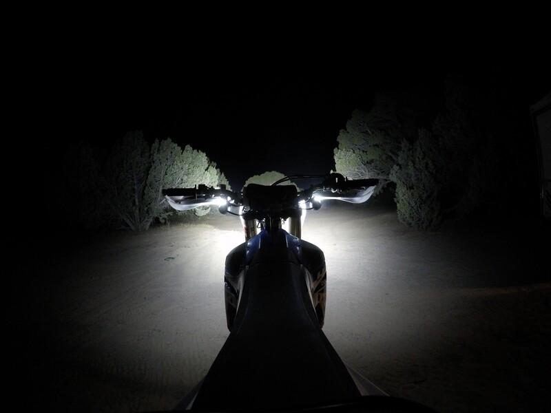 HandleBar Mounted Cree LED Projector Headlight