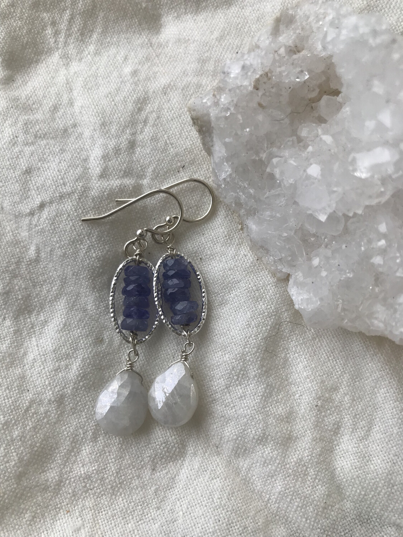 Wisteria earrings