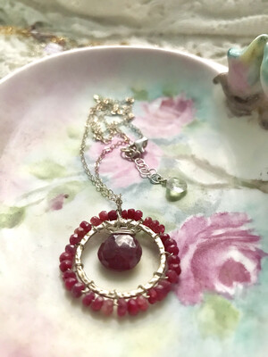 Resplendent Ruby Necklace