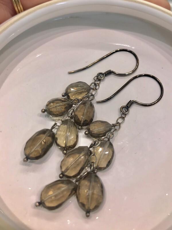 Splendid Smoky Quartz Earrings