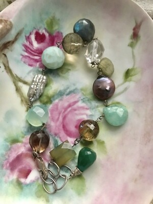 Captivating Gemstone Bracelet