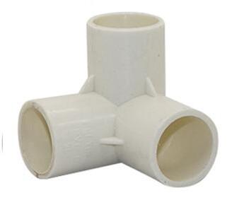 PVC Connector - 3 Way Elbow - 25mm