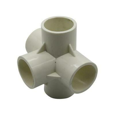 PVC Connector - 5 Way Elbow - 32mm
