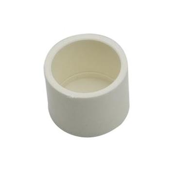 PVC Connectors - End Cap - White - 25mm