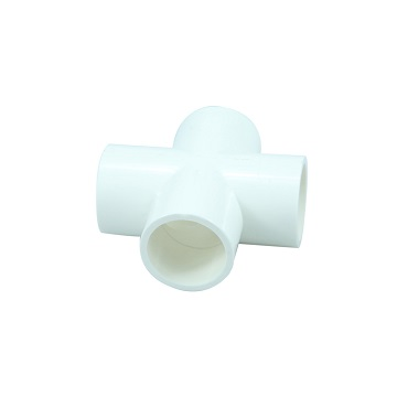 PVC Connector - 4 way cross - 20mm