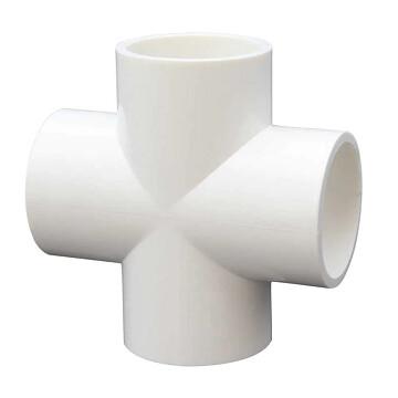 PVC Connector - 4 way cross - 32mm