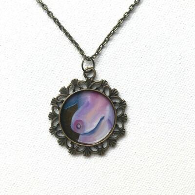 Original 'Cold Flame' Necklace 3