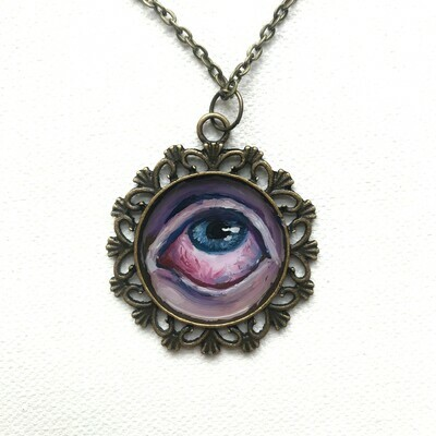 Original 'Cold Flame' Necklace 5