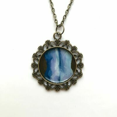 Original 'Cold Flame' Necklace 12