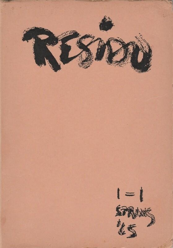 RESIDU VOLUME 1 (PAPERBACK)
