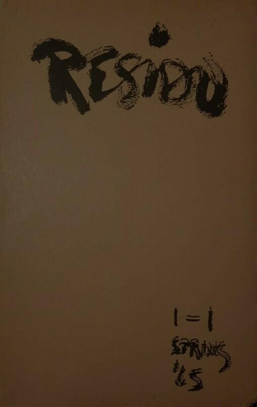 RESIDU Vol 1