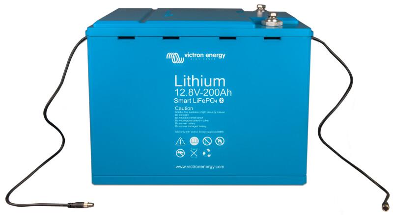 Victron LiFePO4 Battery 12,8V/200Ah-a-Smart