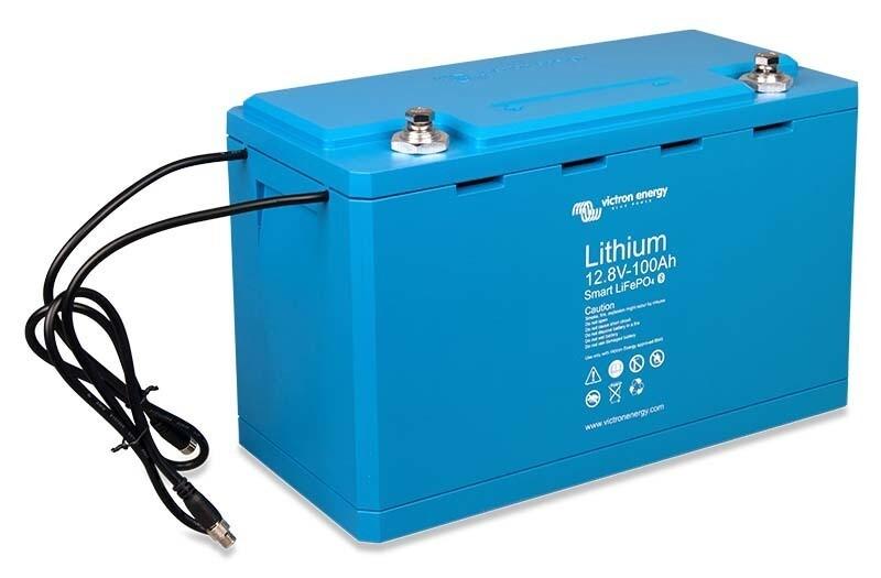 Victron LiFePO4 battery 12,8V/100Ah – Smart