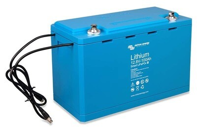 Victron LiFePO4 battery 12,8V/100Ah – Smart