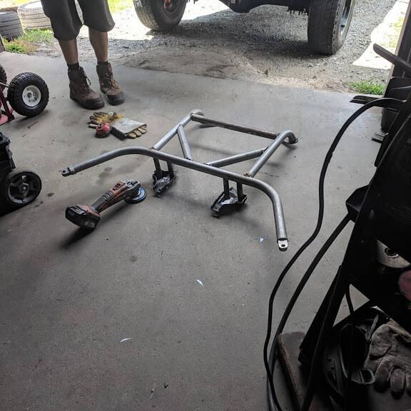 Subaru to 914 engine cradle kit
