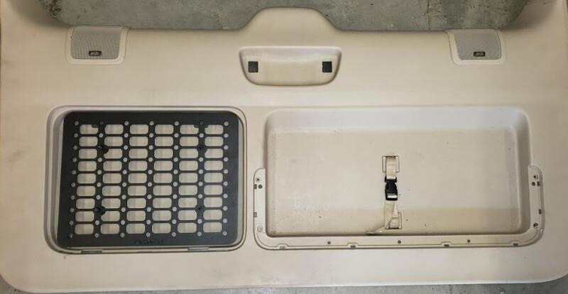 GX470 & Prado 120 Tool box insert