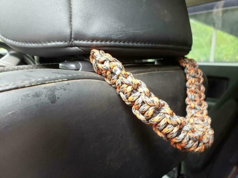 Para Cord seat back Grab handles