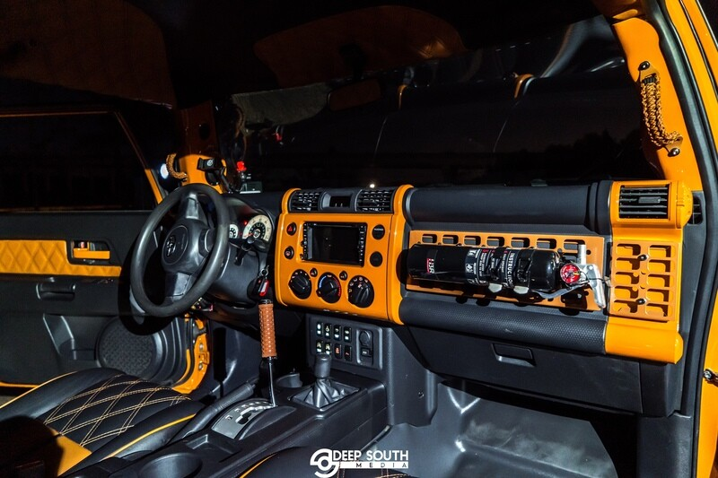 FJ 1-Dash 2-Vents  kit- PSD