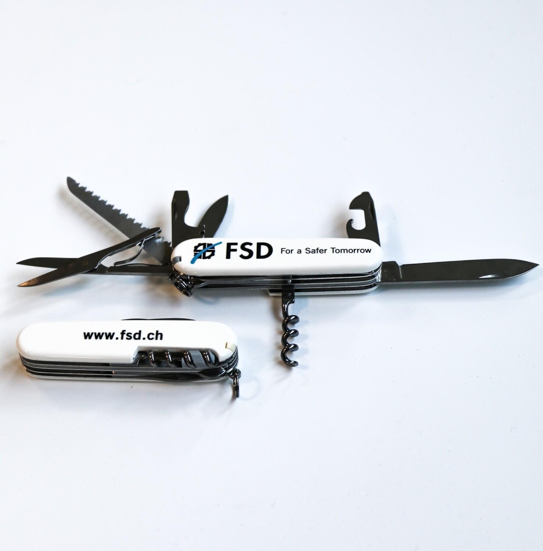 FSD Victorinox Swiss Knife White