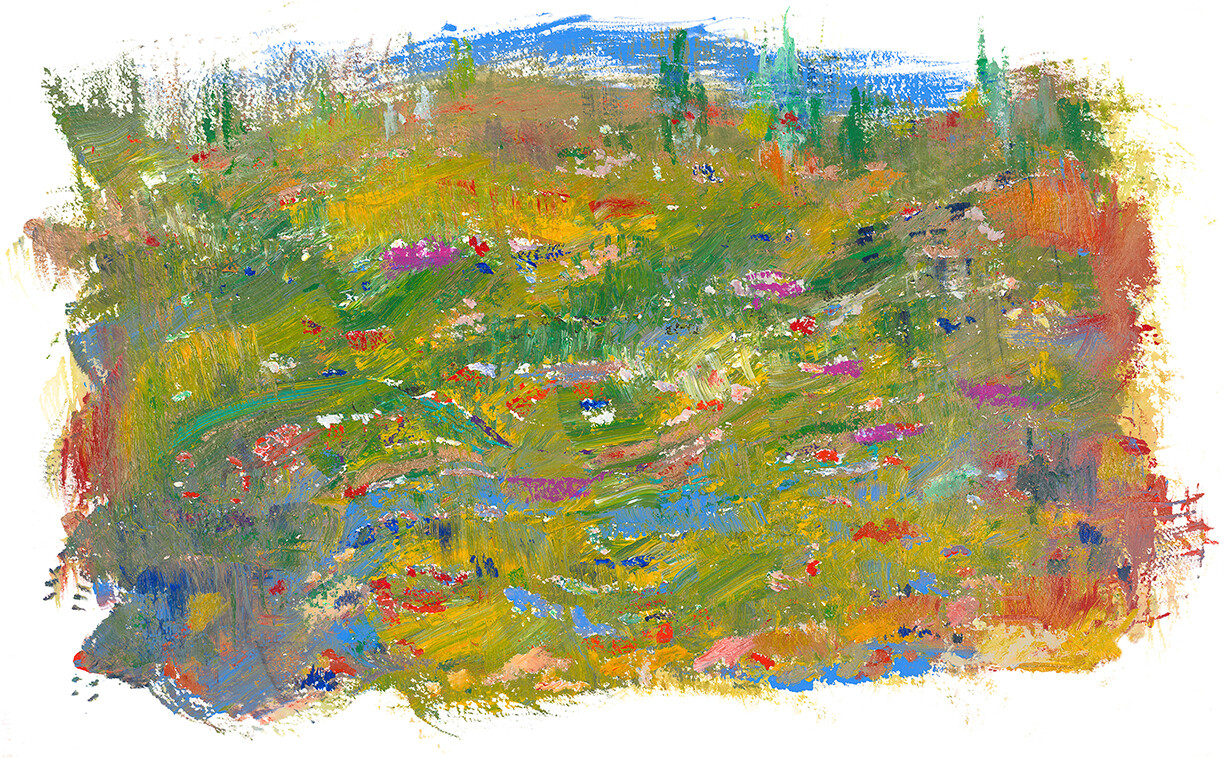IN THE VALLEY; LIMITED EDITION PRINT