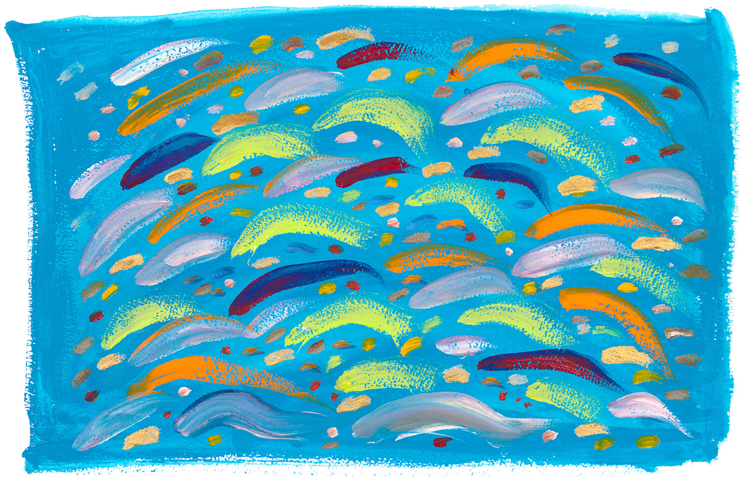 IN THE SWIM; LIMITED EDITION PRINT