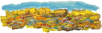 ROCK SPRINGS; A LIMITED EDITION PRINT