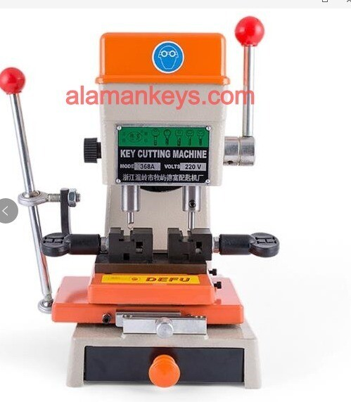 Defu Model 998C key cutting machine with vertical cutter