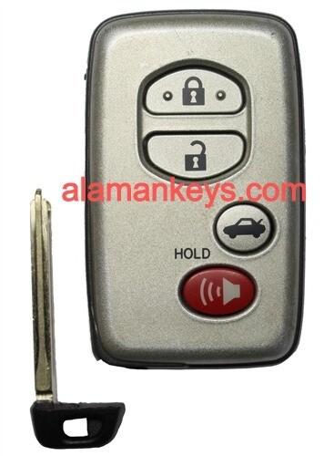 Toyota Avalon OEM 4 Button Key Fob 271451-0140
