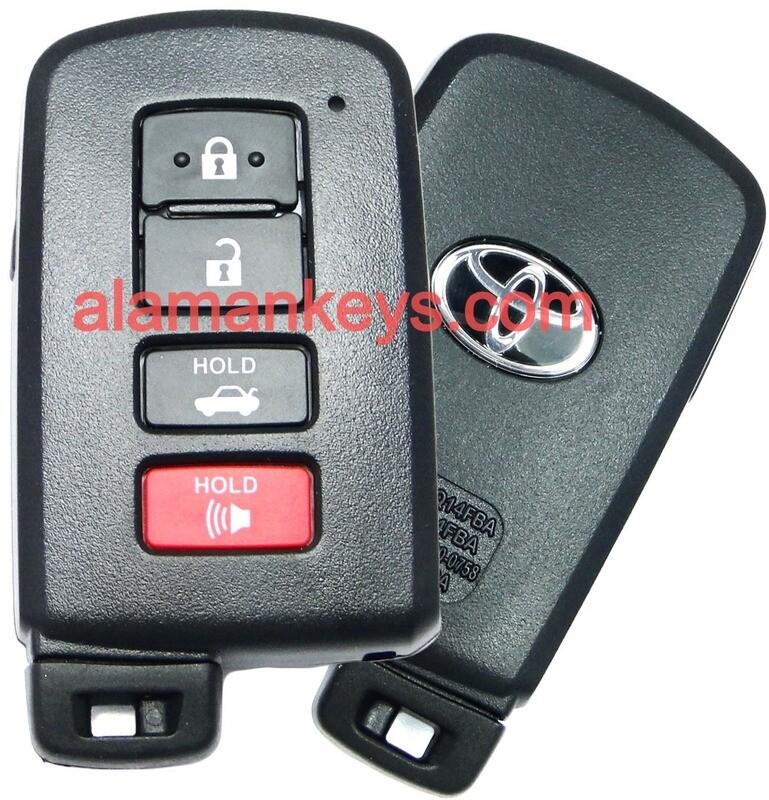 Remote For Toyota Avalon Camry Corolla RAV4 89904-06140 HYQ14FBA