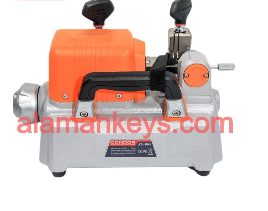 Xhorse Condor XC-009 XC009 Key Cutting Machine with Battery for Single-Sided and Double-sided Keys