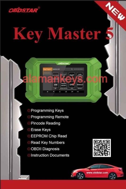 OBDStar Key Master 5 Immobilizer Programming Device