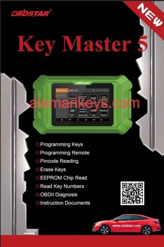 OBDStar Key Master 5 Immobilizer Programming Device
