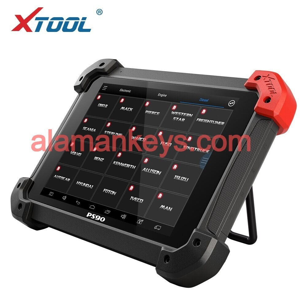 XTOOL PS90 HD Truck Scanner PS90 Heavy duty Diagnosis Tool System Free Update Online