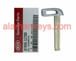 Kia Cadenza NEW OEM Insert Emergency Key Blade for Smart Remote 81996-2J700