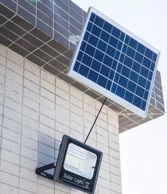 Solar Floodlight - 40 Watts + 63 LEDs + IP67 + 10 Hour - 20 Hour