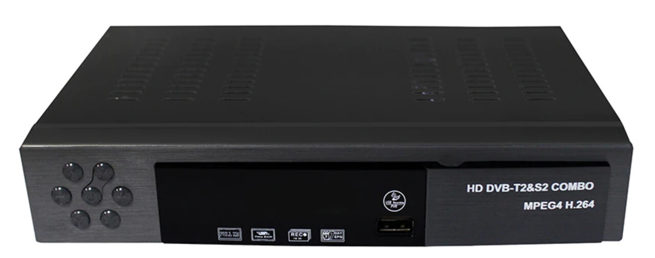 FTA (Free to Air) HD Digital and Terrestrial Satellite Receiver - 1080p