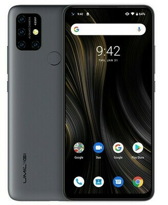 UMIDIGI Power 3 48 MP Quad Camera (4 GB DDR4 RAM & 64 GB ROM) Android 10 (Unlocked)