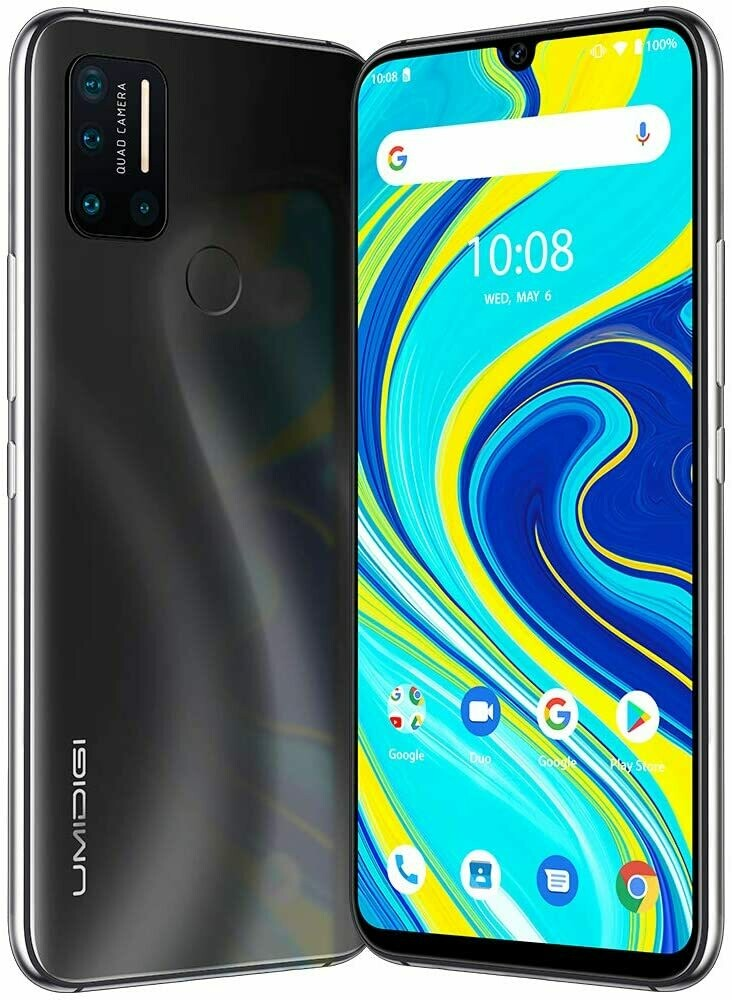 Umidigi A7 Pro Quad Camera (4 GB RAM DDR4X & 64GB ROM) Android 10 (Unlocked Cell Phone)