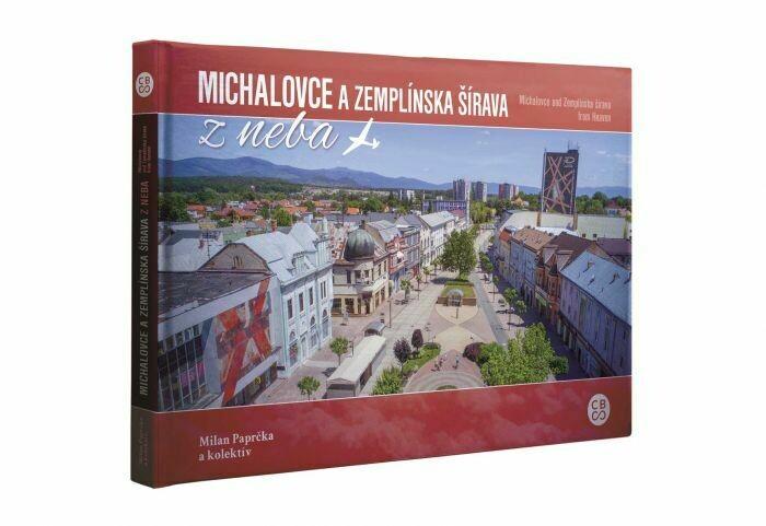 Michalovce a Zemplínska šírava z neba