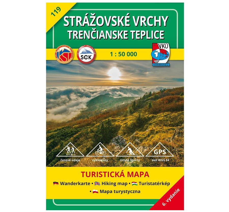 TM 119 - Strážovské vrchy, Trenčianske Teplice