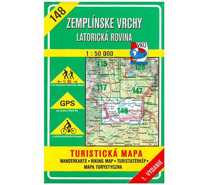 TM 148 - Zemplínske vrchy - Latorická rovina