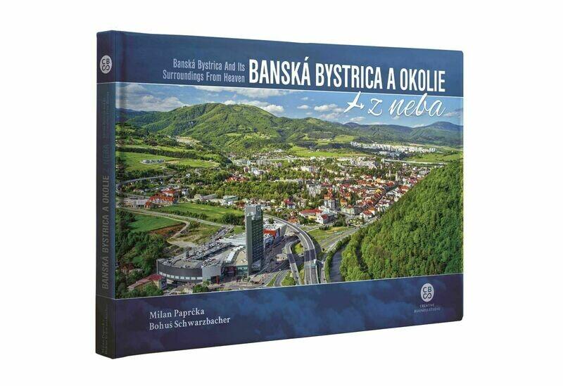 Banská Bystrica a okolie z neba