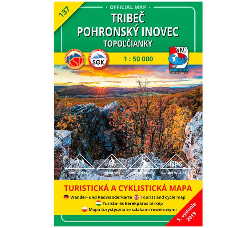 TM 137 - Tribeč - Pohronský Inovec -Topoľčianky