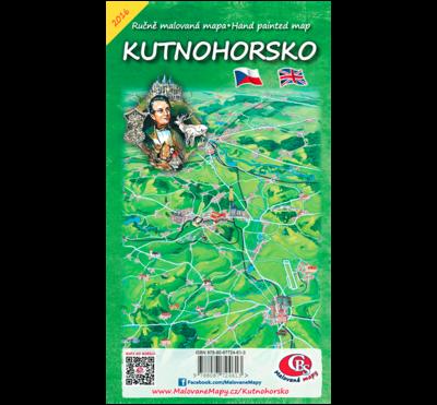 Kutnohorsko - nástěnná mapa