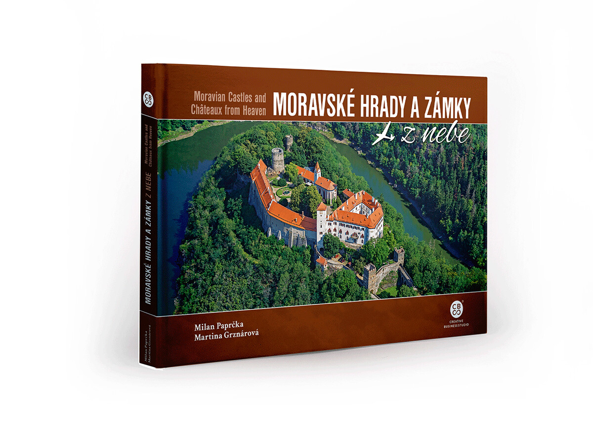 Moravské hrady a zámky z nebe