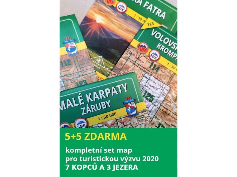 Výzva 2020 - 7 kopců a 3 jezera