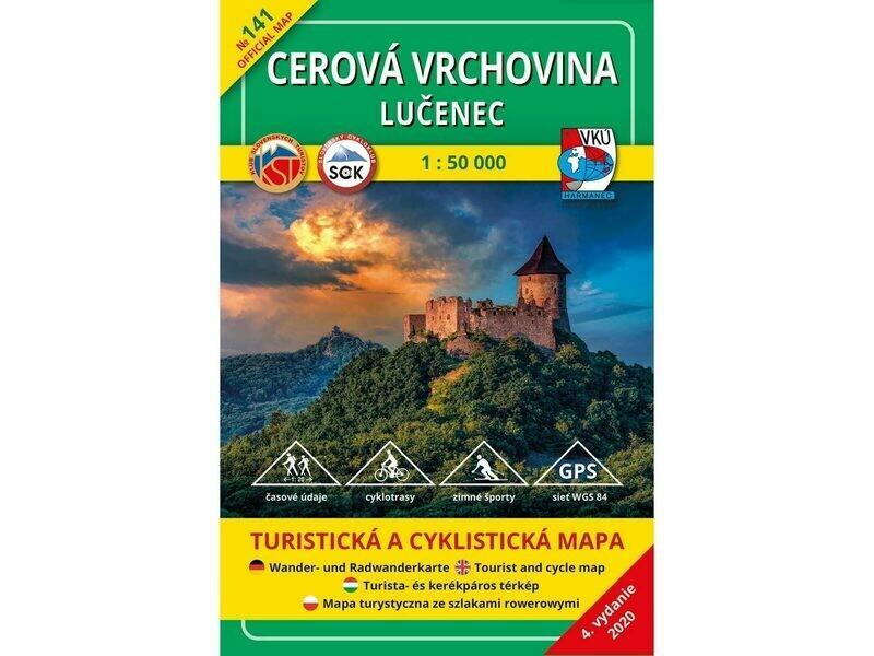 TM 141 - Cerová vrchovina - Lučenec