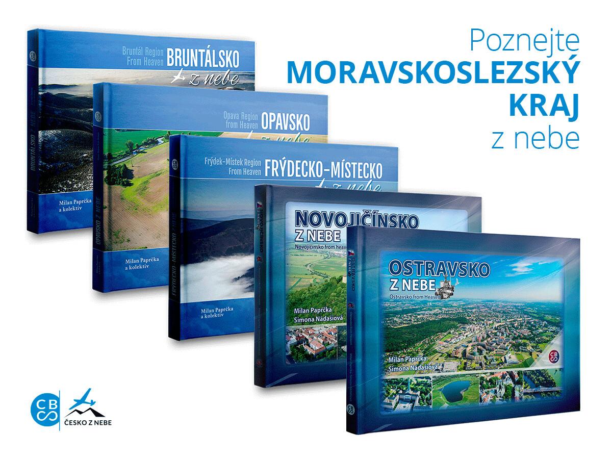 Moravskoslezský kraj z nebe