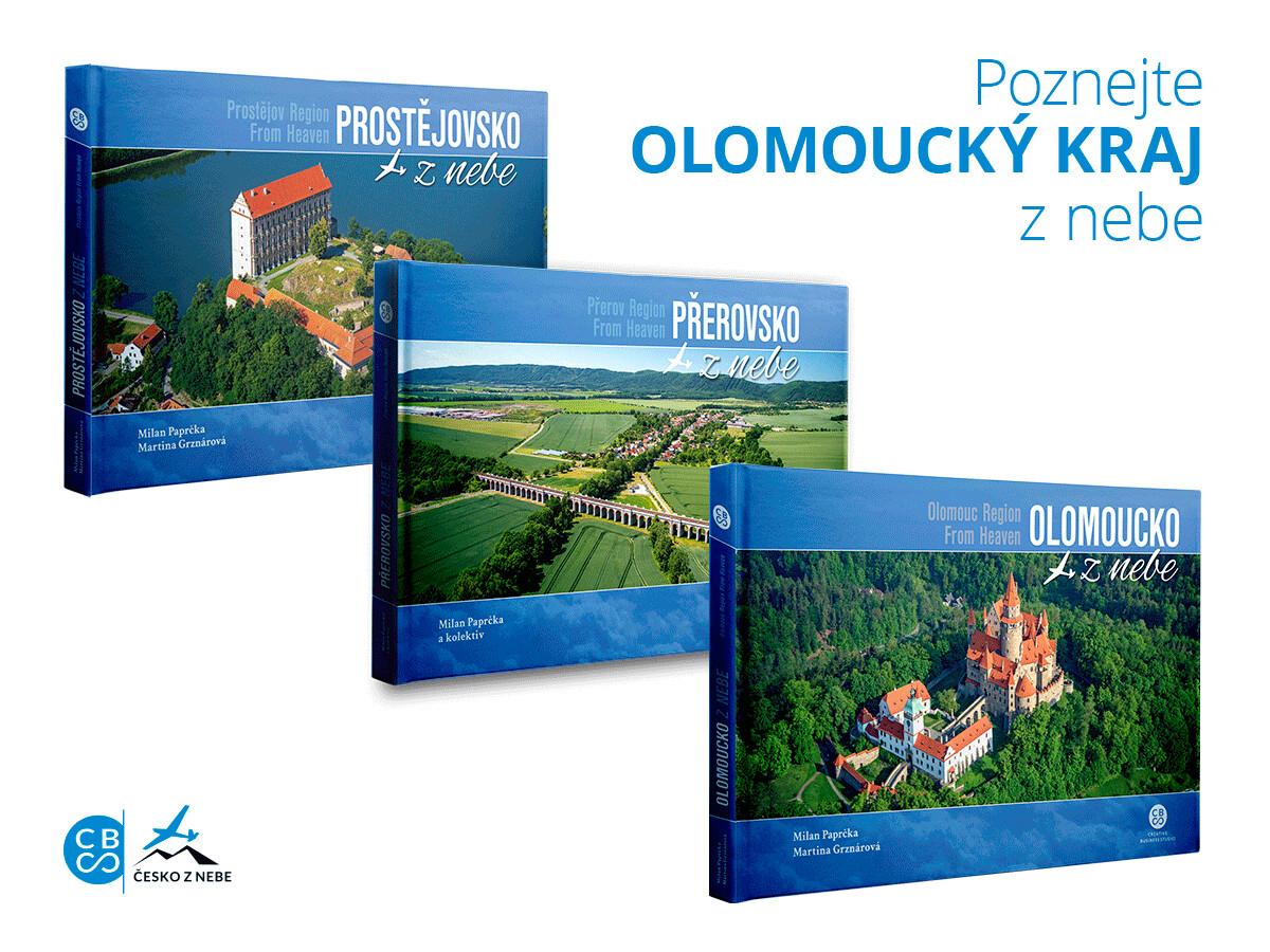 Olomoucký kraj z nebe
