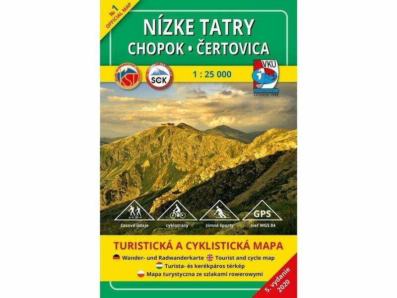 TM 1 - Nízke Tatry - Chopok - Čertovica